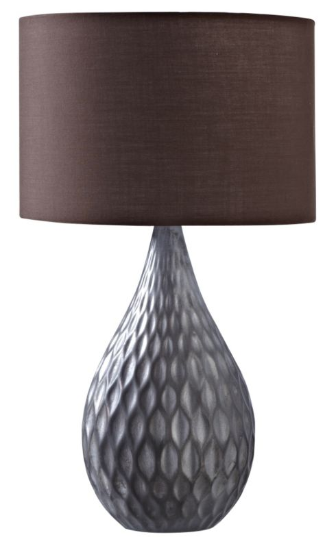 Colours by BandQ Naga Table Lamp Antique Bronze