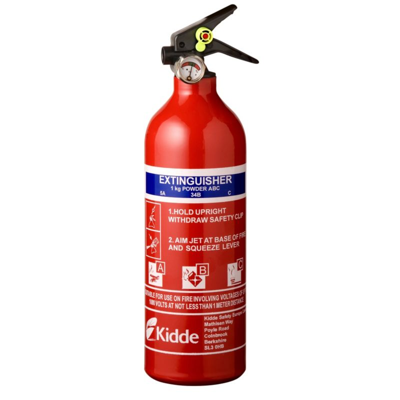 1kg Multipurpose Fire Extinguisher