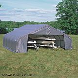 Save on this Shelter Logic Double Wide Garage W22' x D24' x H12'