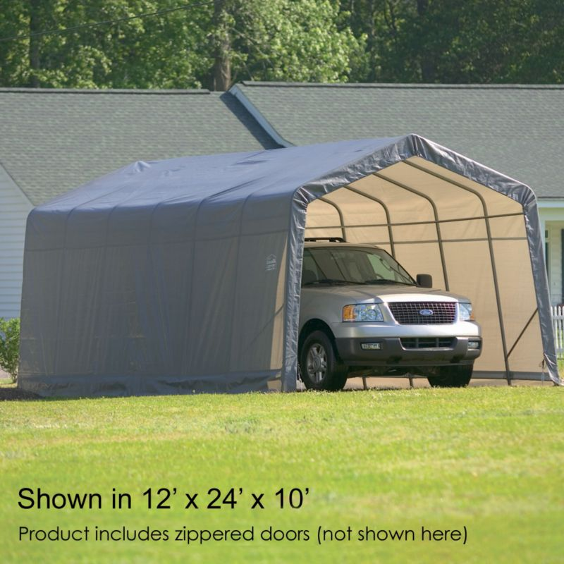 Shelter Logic Instant Garage 12' x 28' x 10'