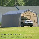 Save on this Shelter Logic Instant Garage 12' x 28' x 10'