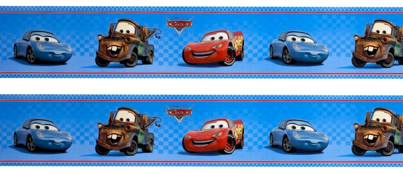 Charming Tittle : Car Wallpaper Border | Disney Cars Border