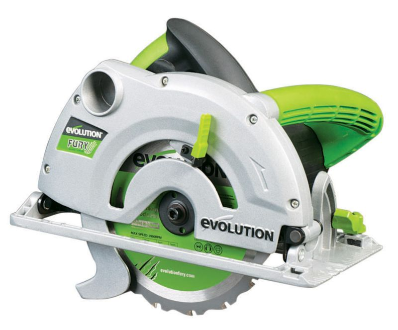 Evolution Fury 1 Basic Multi Purpose Circular Saw
