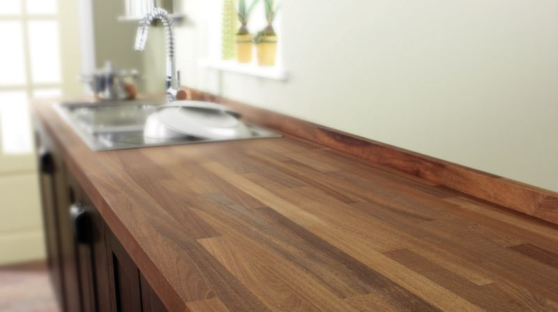 Natural Solid Wood Worktops
