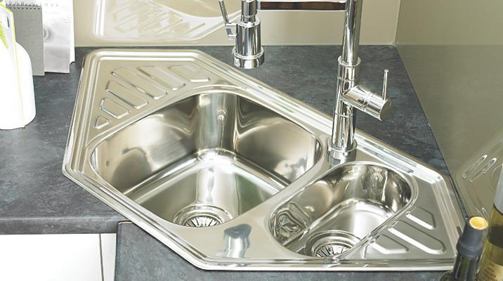 Kitchen Sinks Kitchen Sinks & Taps Kitchen Rooms DIY at B&Q