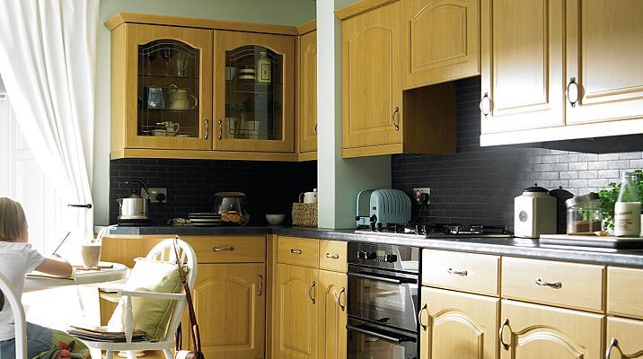kitchen cabinet doors b q