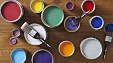 cOLOURFUL PAINT - B&Q