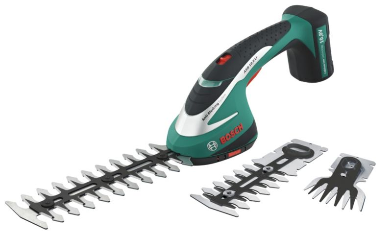 Bosch ASB 10.8 LI Cordless Hedge Trimmer Set