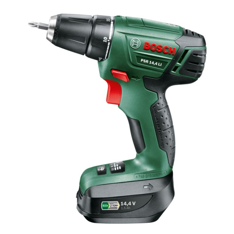 bosch psr14 4li 14 4v cordless drill driver departments. Black Bedroom Furniture Sets. Home Design Ideas