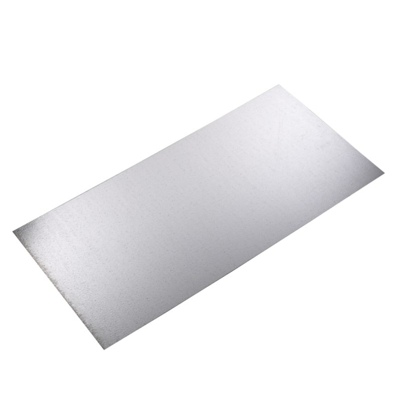 Galvanised Steel Panel Steel Coloured (L)500mm &times  (W)250mm