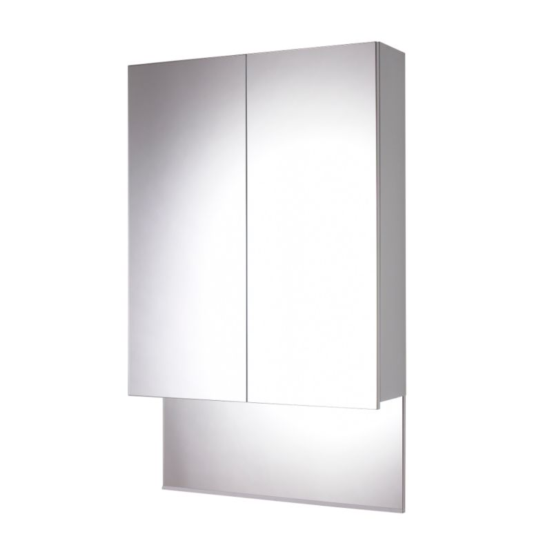 Aquabi Mirror Cabinet White (H)1135 x (W)700 x (L)185mm