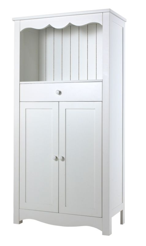 Emma Tall Unit White (H)1520 x (W)770 x (L)365mm