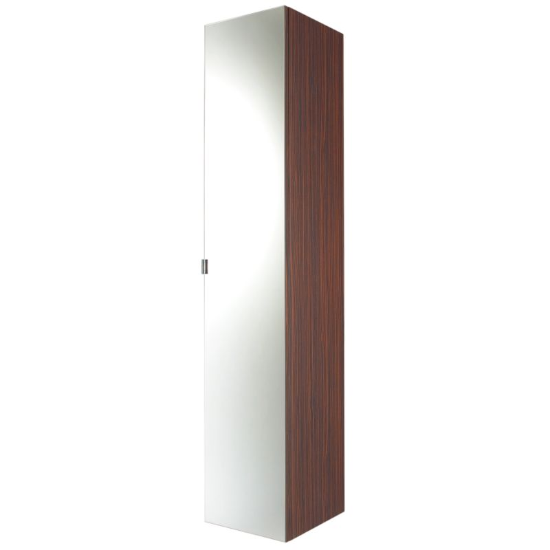 Zebrano Tall Mirror Unit (H)1725 x (W)355 x (L)350mm