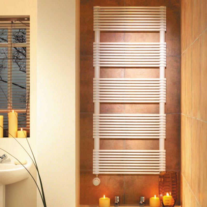 Acova Madras Towel Drying Radiator White (H)1412