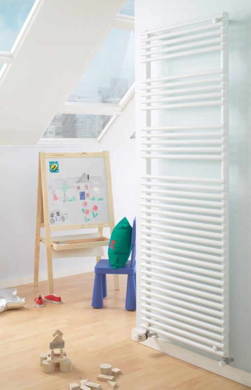Acova Cala Towel Drying Radiator White (H)721 x