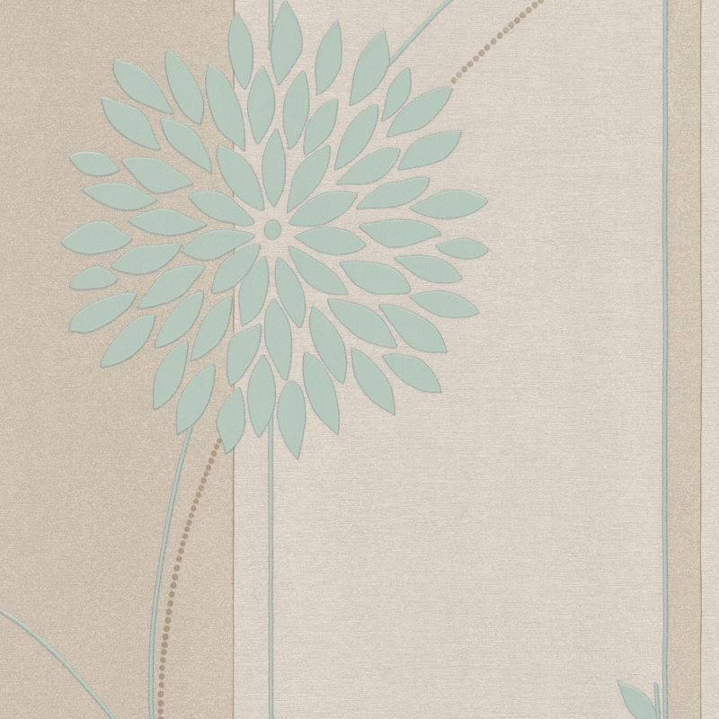 Tea Garden Wallcovering Duck