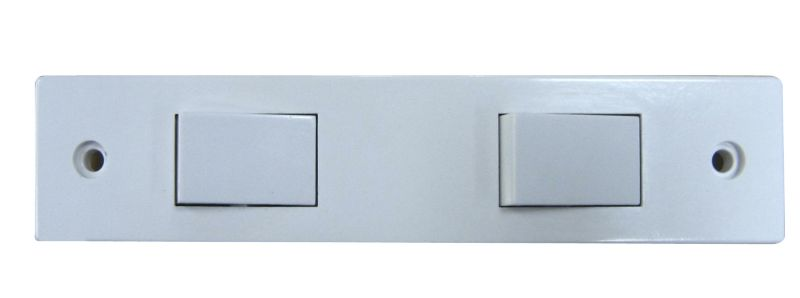 Marbo Light switch Double 2 Way 6Ax Architrave