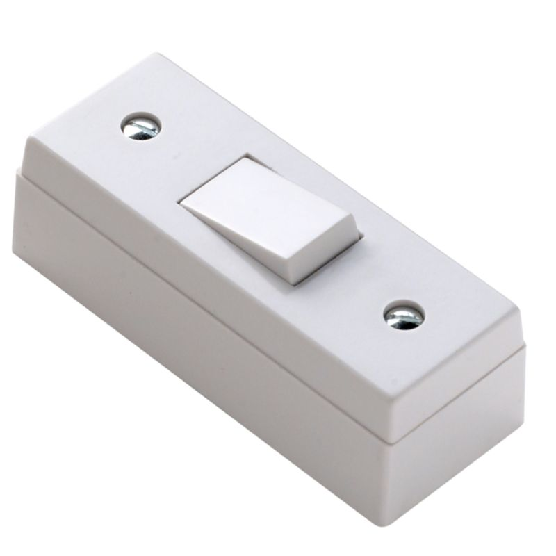 Marbo Light switch Single 2 Way 6Ax Architrave