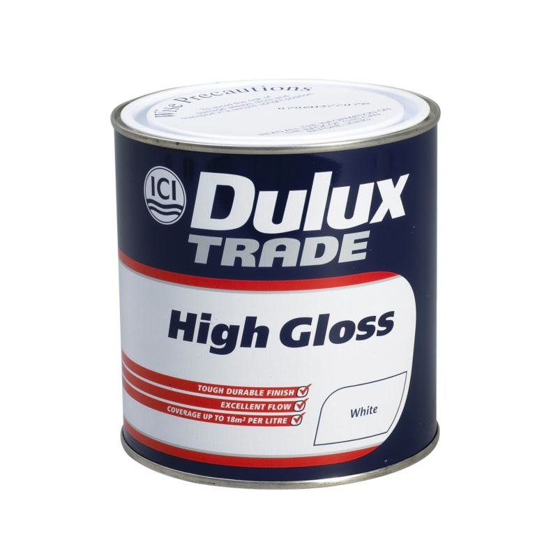 Dulux Trade High Gloss Paint White