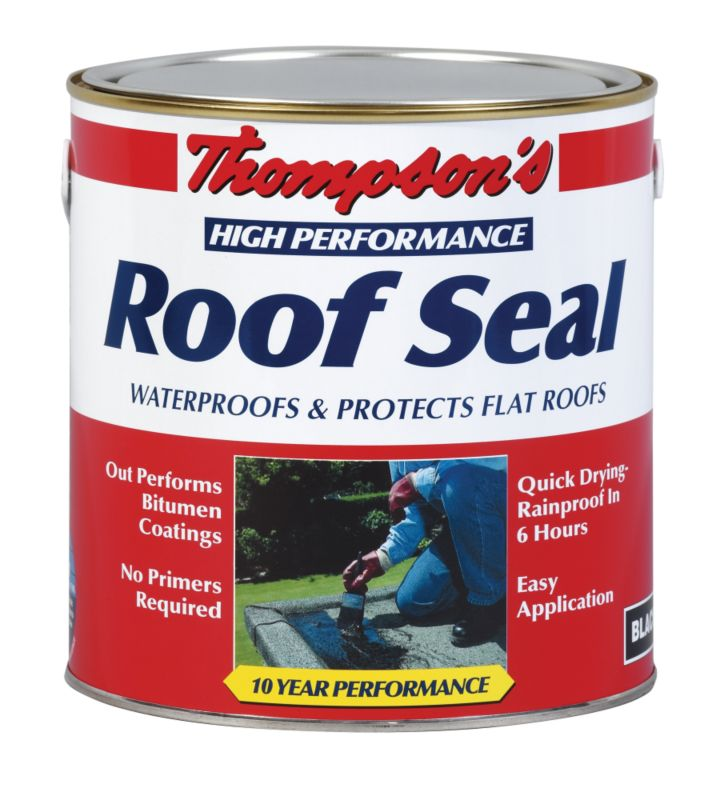 Thompsons Roof Seal Black 4L