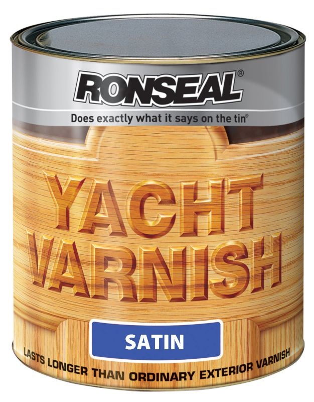 Ronseal Yacht Varnish Clear 1L