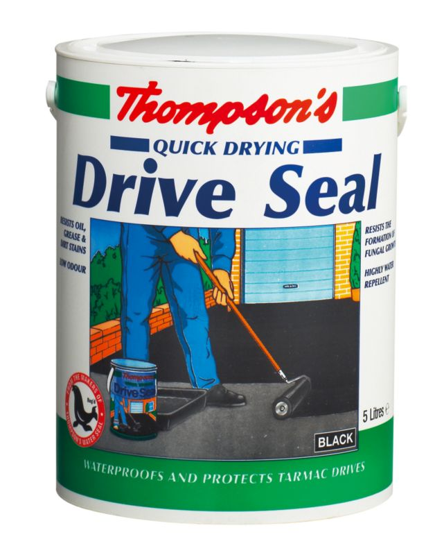 Thompson's Quick Drying Drive Seal Black 5L