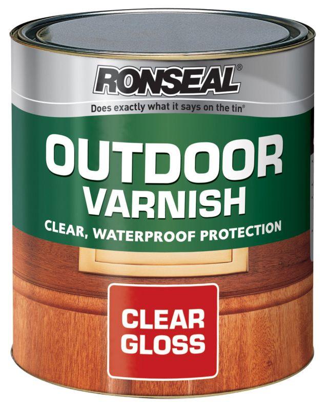 Ronseal Outdoor Varnish Clear