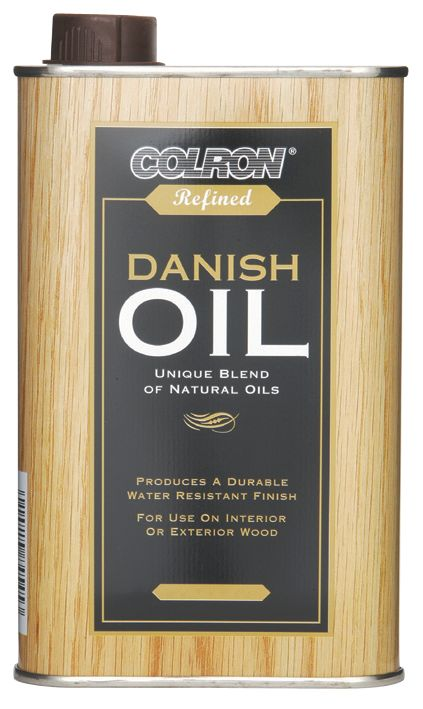 Colron Refined Danish Oil Jac Dark Oak 500ml