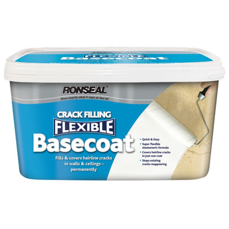 Ronseal Flexible Basecoat White