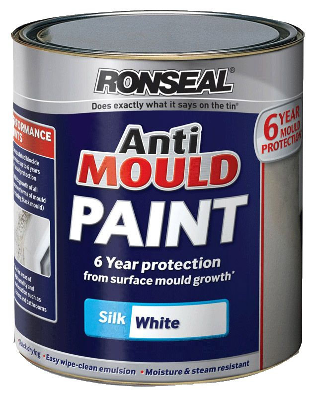 Ronseal Anti Mould Paint Silk 750ml