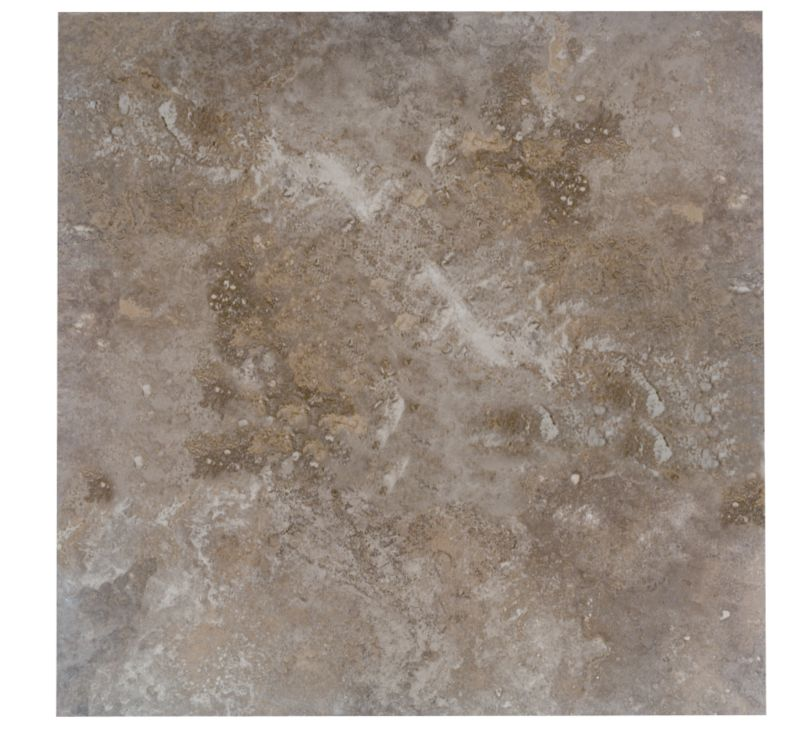 Castle Travertine Effect Coffee Wall And Floor Tiles L450xw450mm