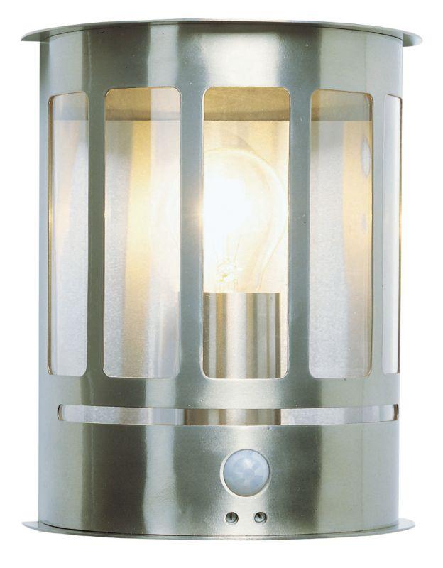 Ryedale Half Wall Lantern PIR 43753 Black 60w