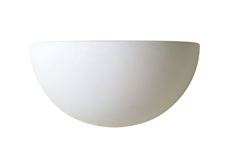 Aura 1/4 Sphere White Uplighter