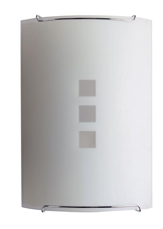Aries Curved Glass Wall Light 85483 Acid 60w