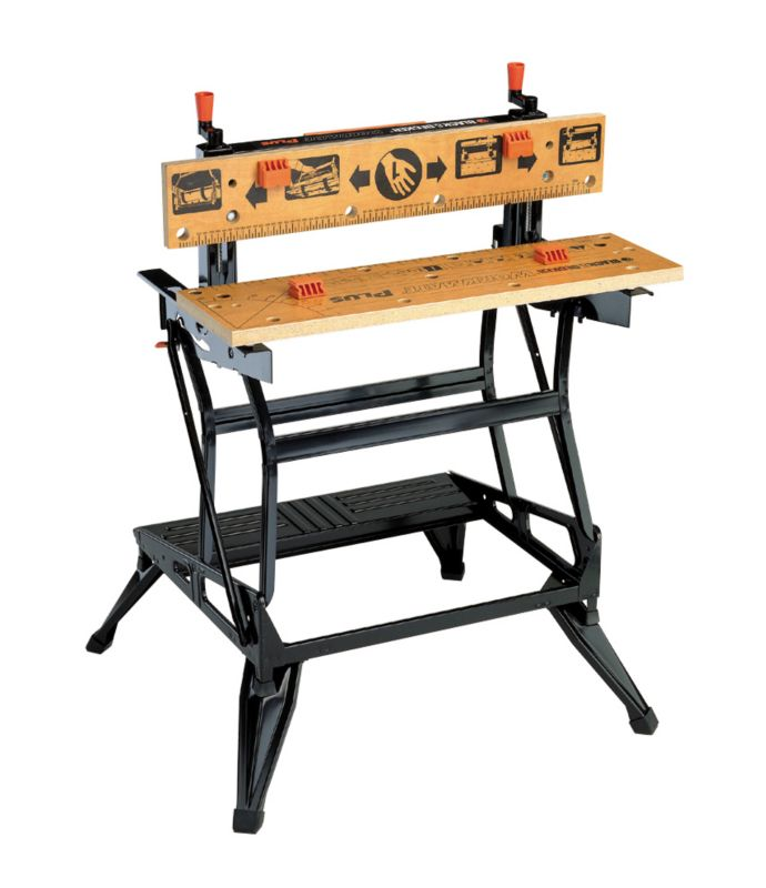 Black & Decker Dual Height Workmate WM825 Black