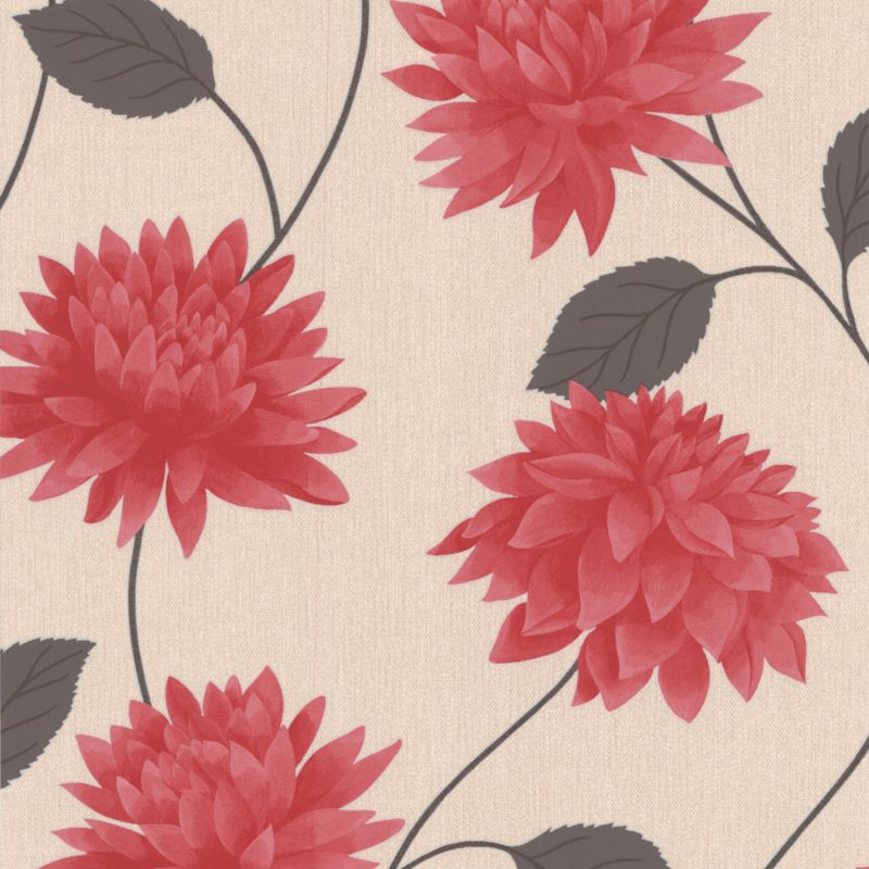 Romance Wallcovering Red 10m
