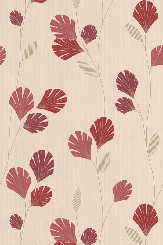 Sarah Wallcovering Red 10m