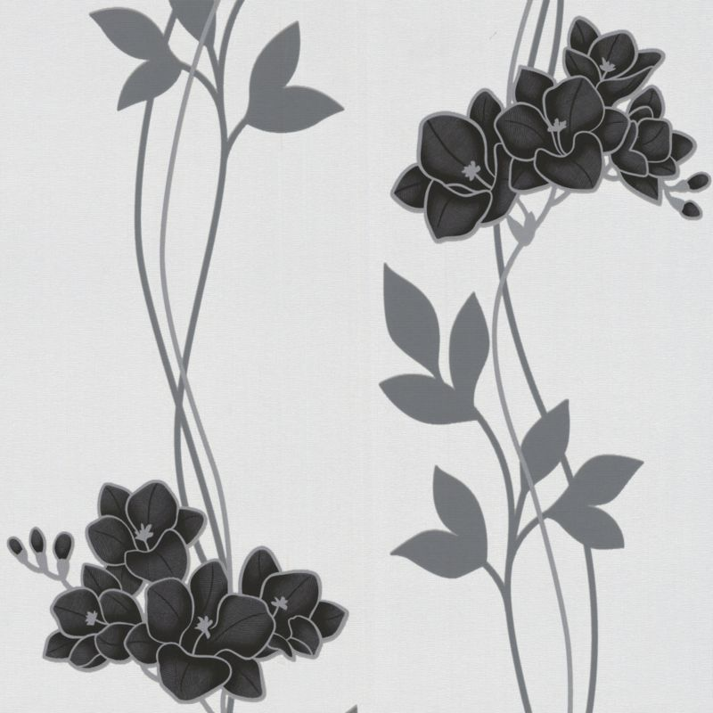 Serene Wallcovering Black 10m
