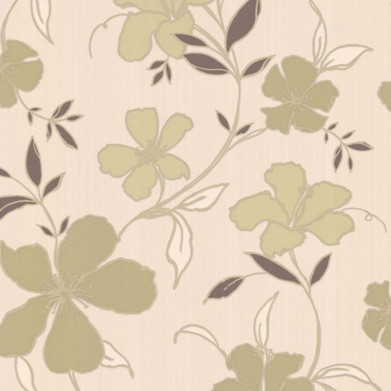 Rapture Wallcovering Green 10m