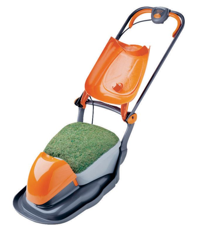 Flymo Electric Grass Collecting Hover Mower Hover Compact 330 1450w 33cm/13inch