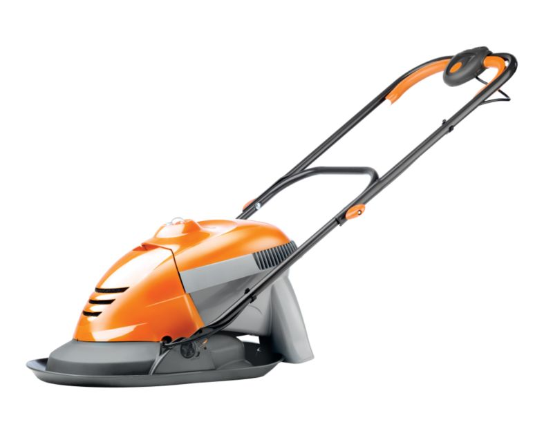 Flymo Hover Vac Electric Grass Collecting Lawnmower