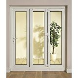 Save on this B&Q 8ft PVCU Tri Fold Left Hand Folding Exterior Door White 2030x2390mm