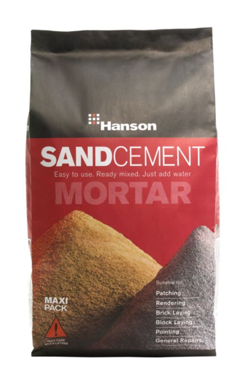 Hanson Sand and Cement Mortar Maxi Pack 25kg