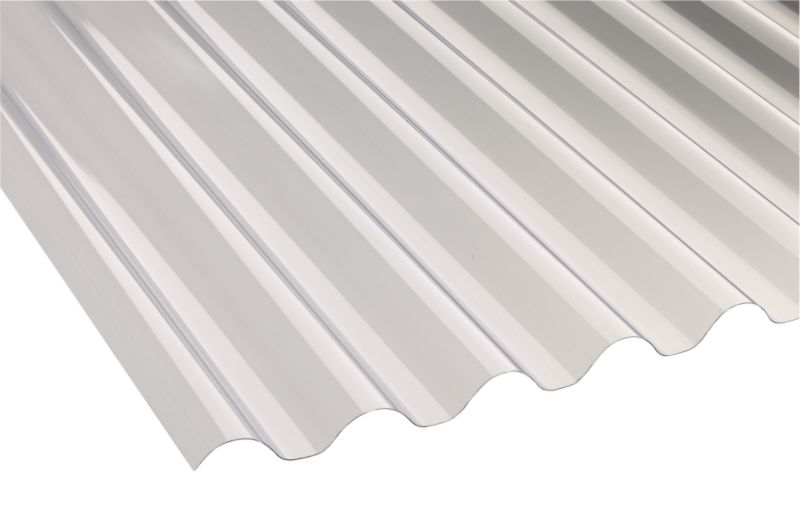 PVC Corrugated Roofing Sheet 77/20