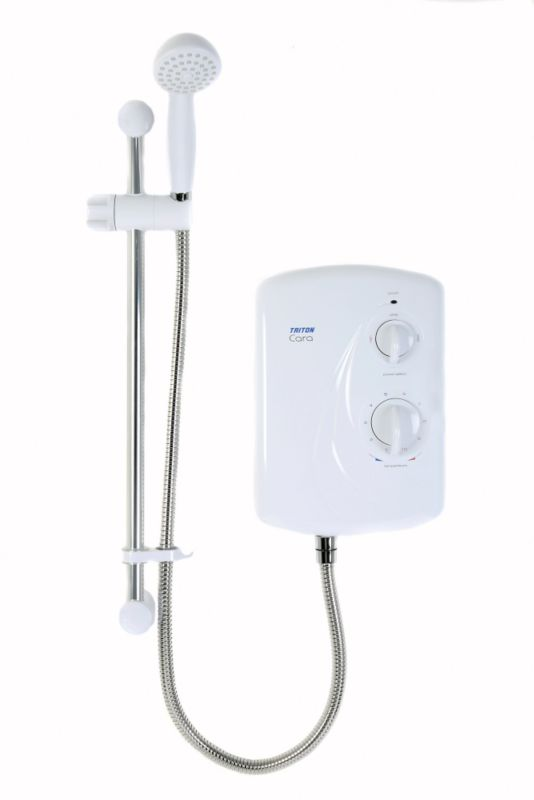 Triton Cara Electric Shower White 8.5kw