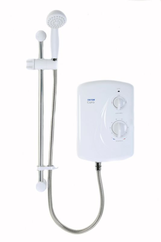 Triton Cara Electric Shower White 10.5kw