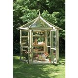 Save on this Heritage Glasshouse with Assembly - (H) 10ft1in x (W) 8ft10in x (D) 7ft8in