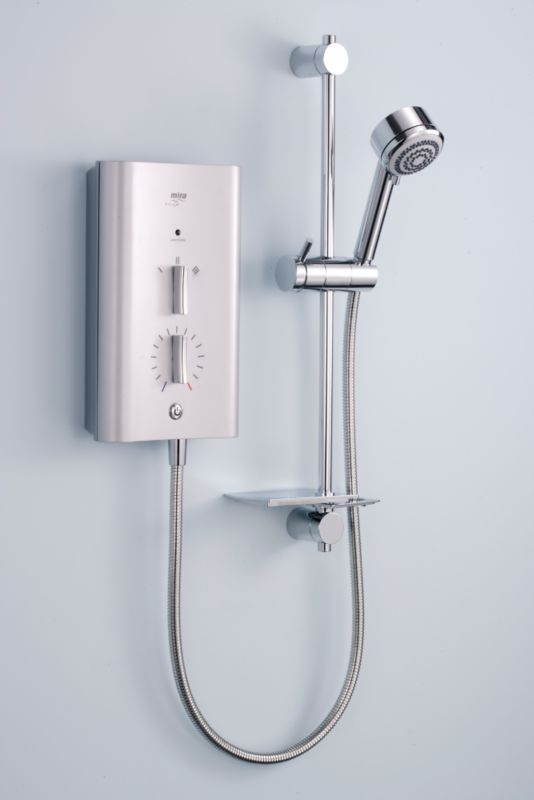 Mira Escape 9.8kw Electric Shower Satin Chrome