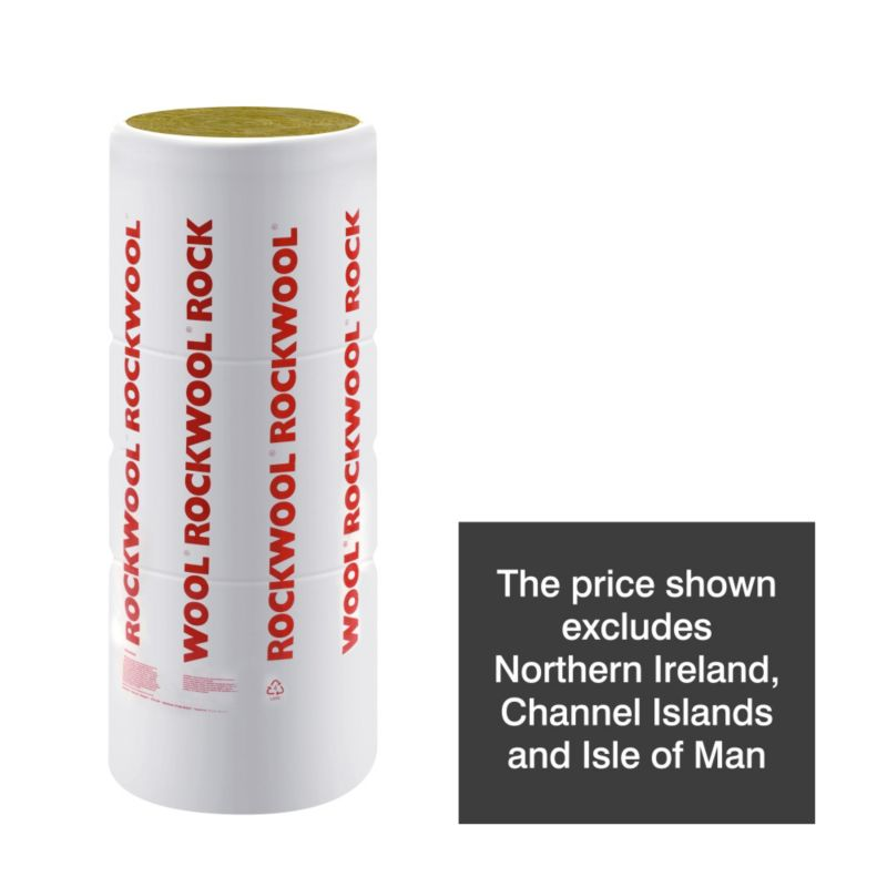 Rockwool DIY Loft Insulation Kingsize Roll 1200 X 2750mm