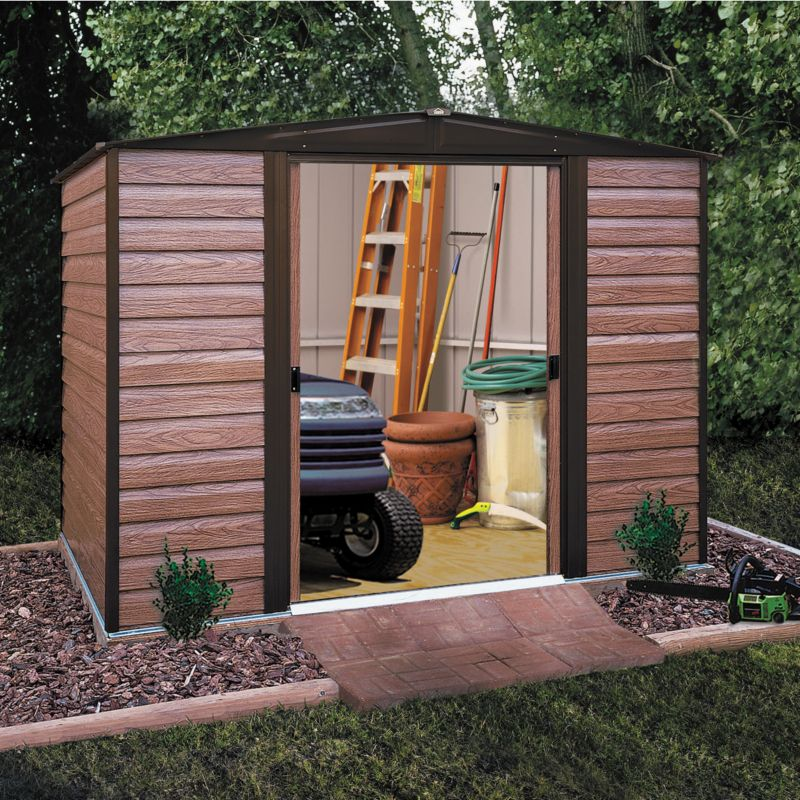 Woodvale Metal Shed Model 1012 with Floor and Assembly